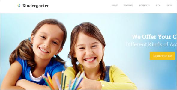 Preschool WordPress Theme