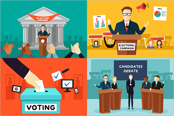Presidential Election Poster Design
