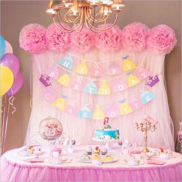 Pretty Girl's Birthday Party Theme