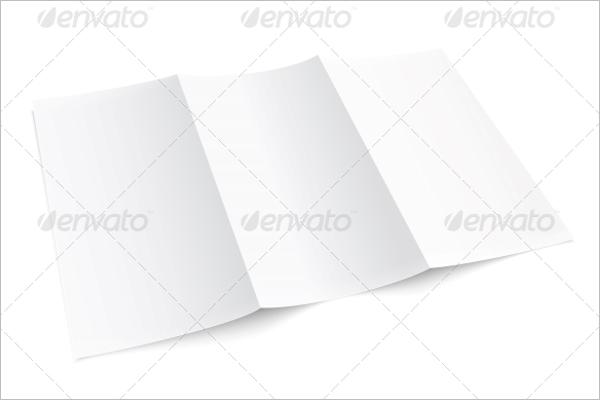 Printable Blank Brochure Template
