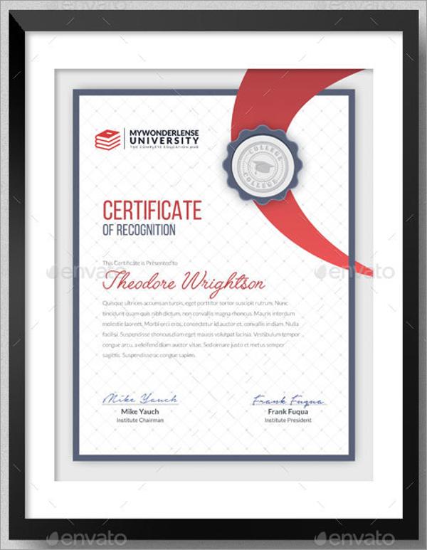 30 School Certificate Templates Free Word Psd Design Formats