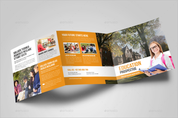 Printable College Brochure Template