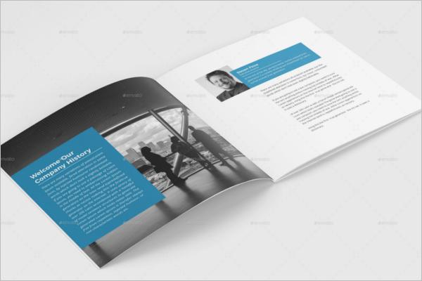 Printable Company Brochure Design