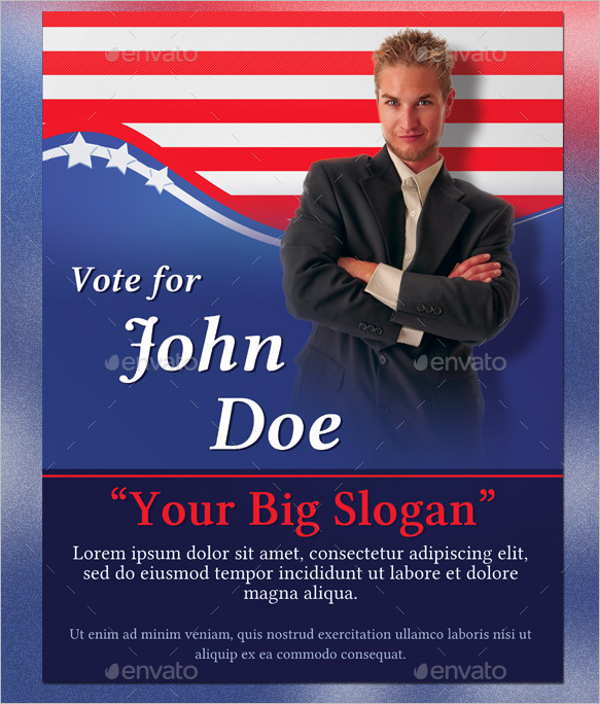 Printable Election Poster Template