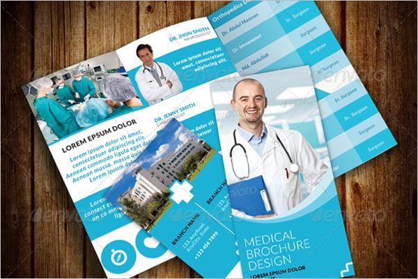 Printable Hospital Brochure Template