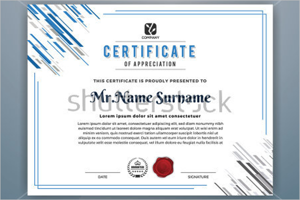 25 sample academic certificate templates free word formats
