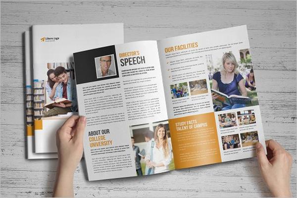 Professional College Brochure Template