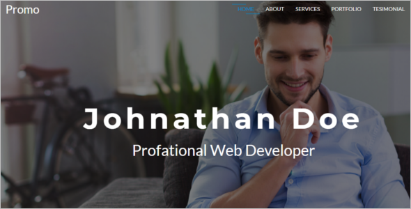Professional Designer Website Template