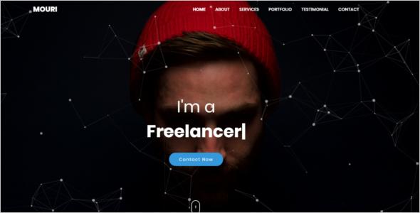 Professional Portfolio HTML Template