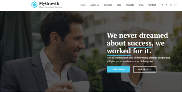 Professional Services WordPress Theme