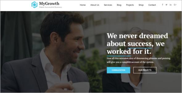 Professional Services WordPress Theme
