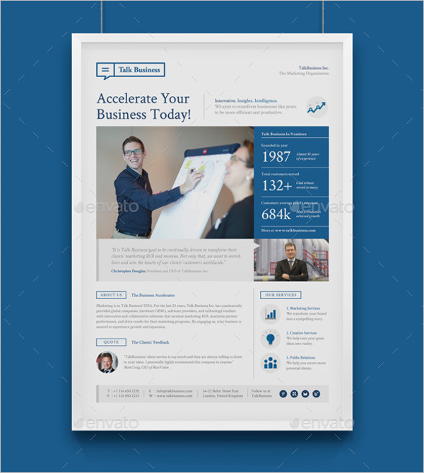 Publisher Poster Template