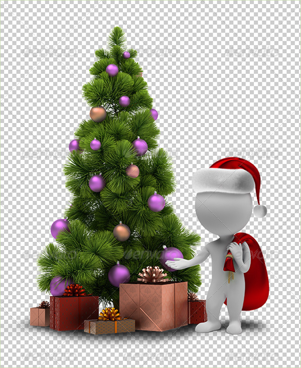 Real Christmas Tree Design