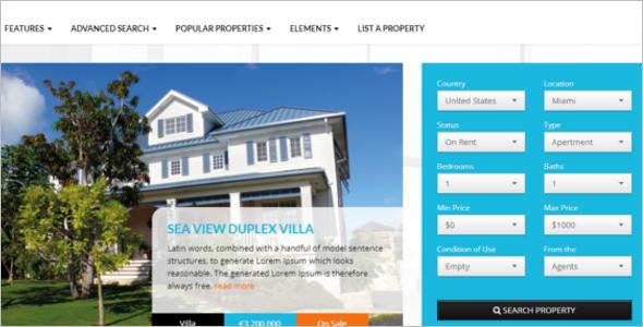 Real Estate HTML5 Website Template