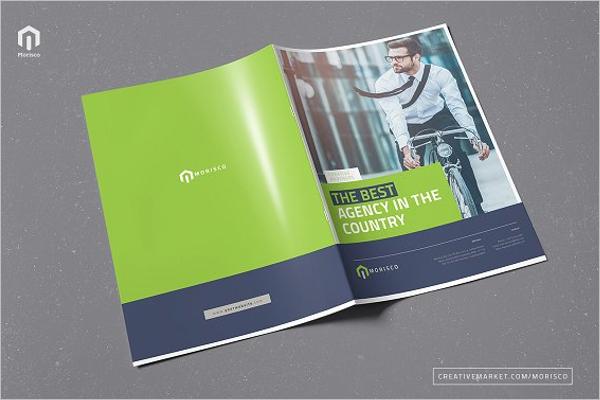 Realistic College Brochure Template