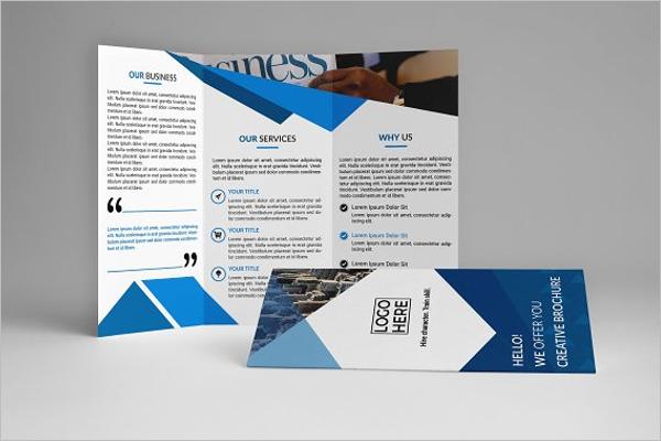 Realistic Company Brochure Template