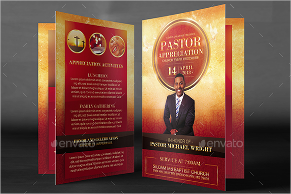 Religious Brochure Template