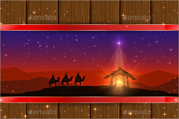 Religious Scene Decoration Idea