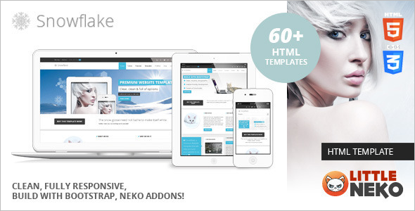 Responsive Bootstrap Website Template