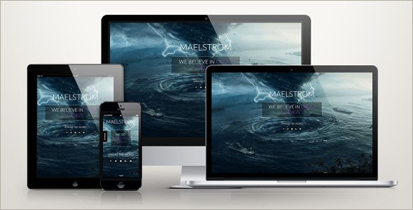 Responsive CSS3 Template