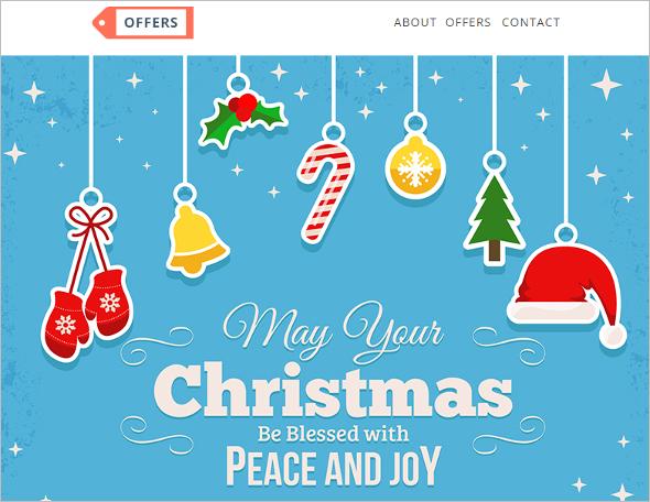 Responsive Christmas HTML Template