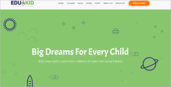 Responsive Kindergarten WordPress Theme