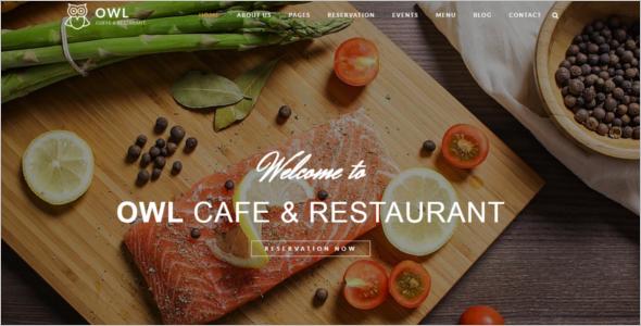 Restaurant Business Website Template