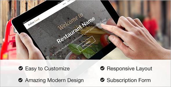 Restaurant Site Template