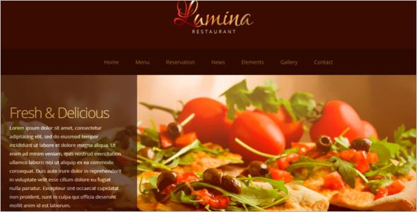 RestaurantWebsite Template