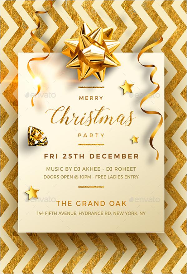 Retro Christmas Eve Party