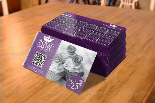 Royal Bakery business card
