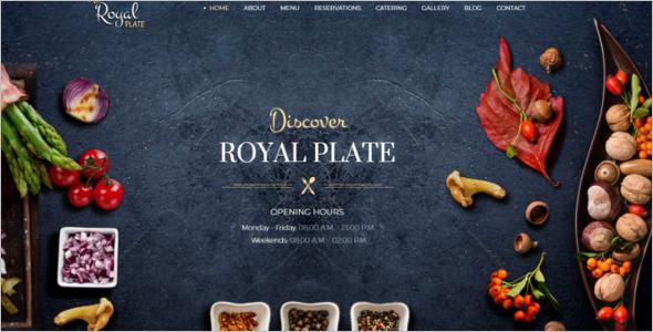 RoyalRestaurant Website Template