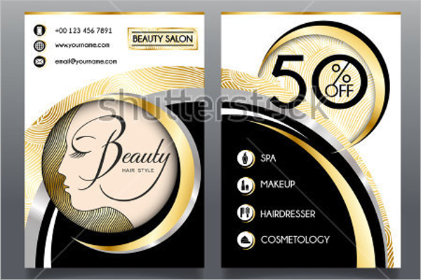 Salon Business Brochure Template