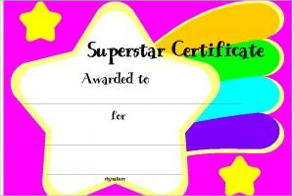 Sample Attendance Certificate Template