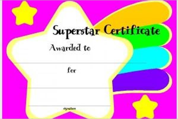 Sample Attendance Certificate Template