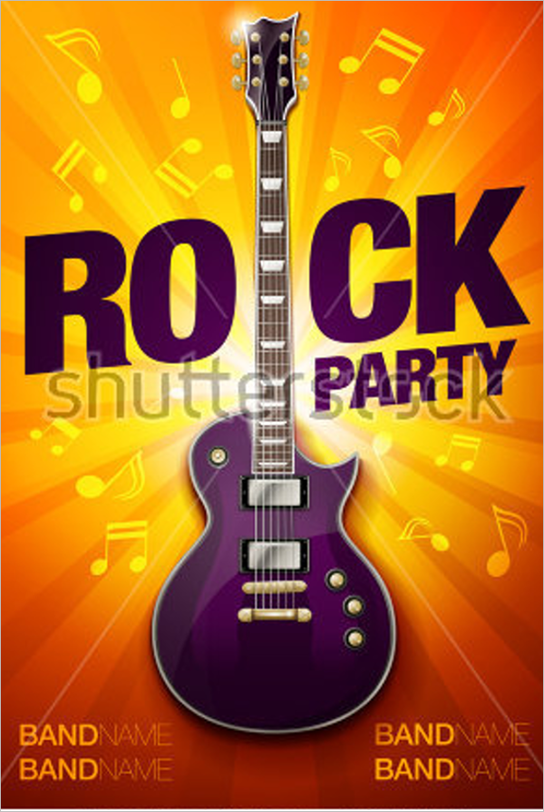 Sample Band Flyer Template