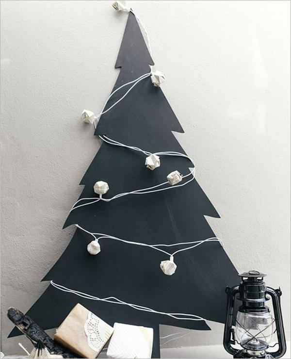 Sample Black Christmas Tree Idea