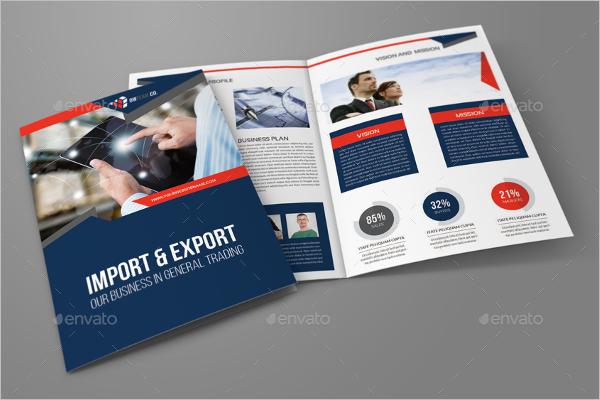 Sample Company Brochure Template