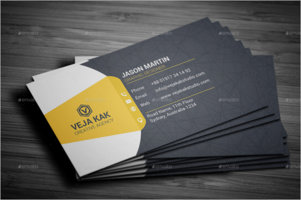 Sample Custom business Card Template
