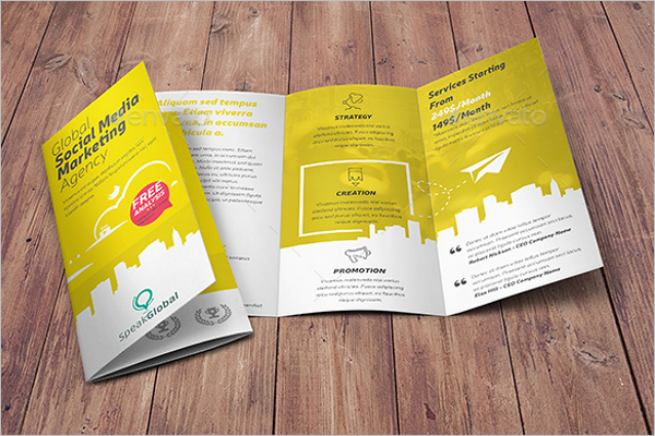 Sample Digital Brochure Template