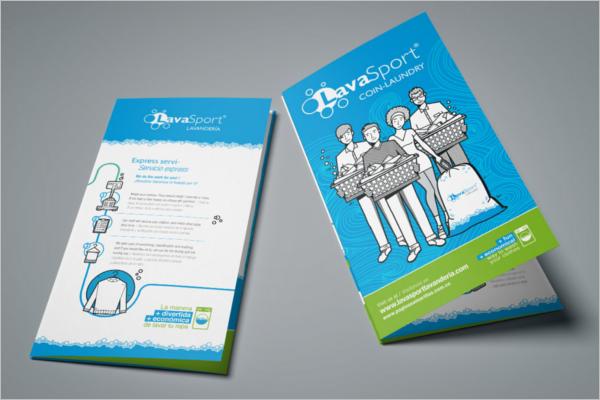 SampleLaundry Brochure Template