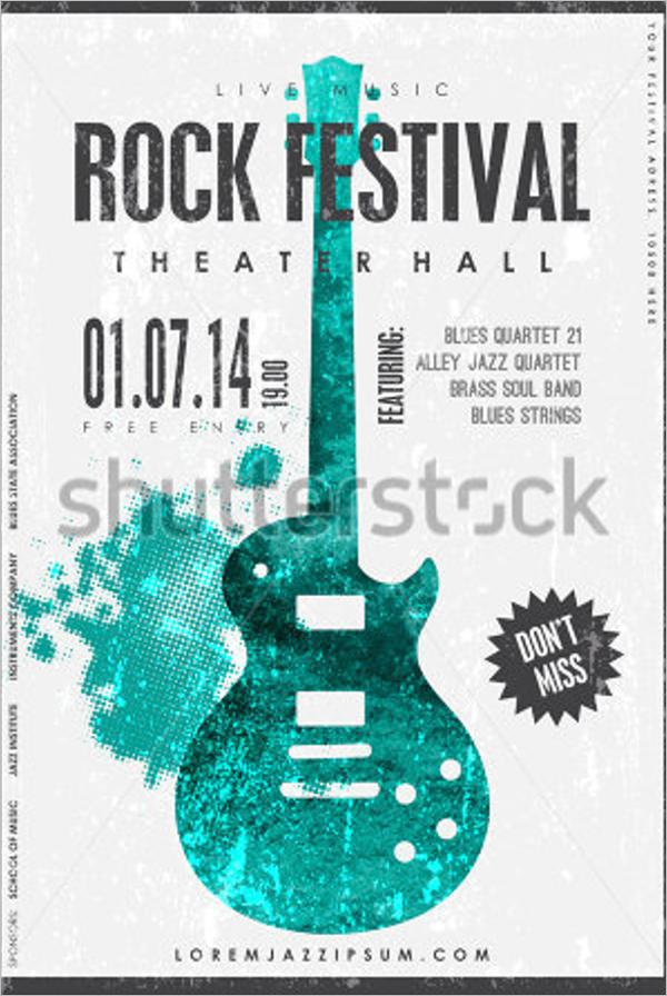 Sample Music Poster Design