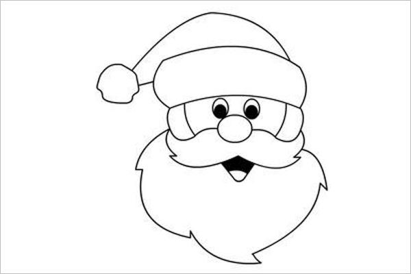 Santa Claus Drawing Photo Design