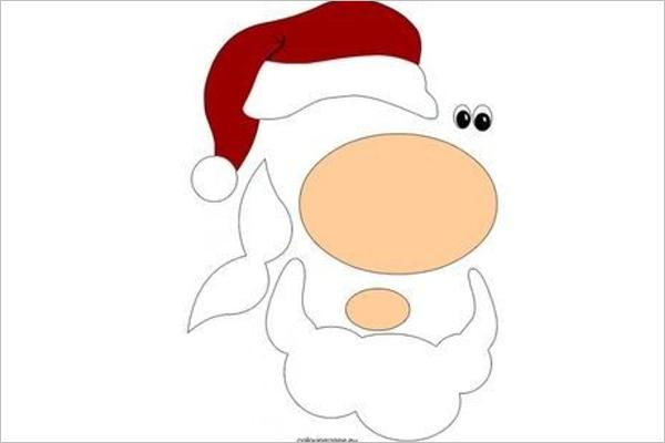 Santa Claus Sketch Design