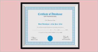 School Certificate Templates