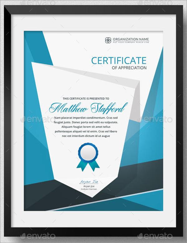 School Reading Certificate Template