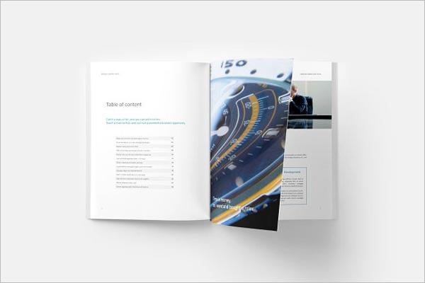 Security Company Brochure Template
