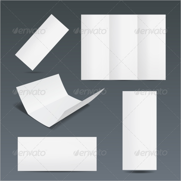 Set of Blank Flyer Template