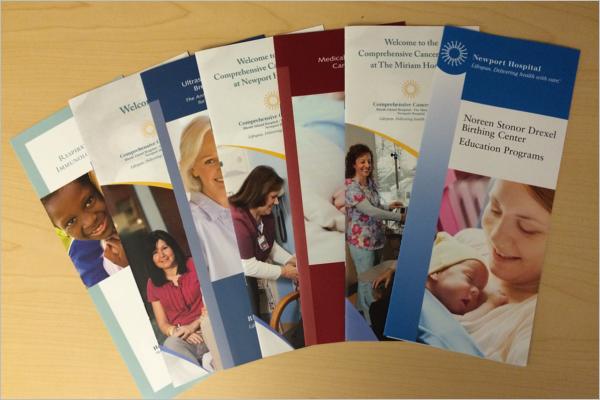 Set of Medical Brochure Design