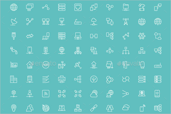 Share Icons Sketch Template
